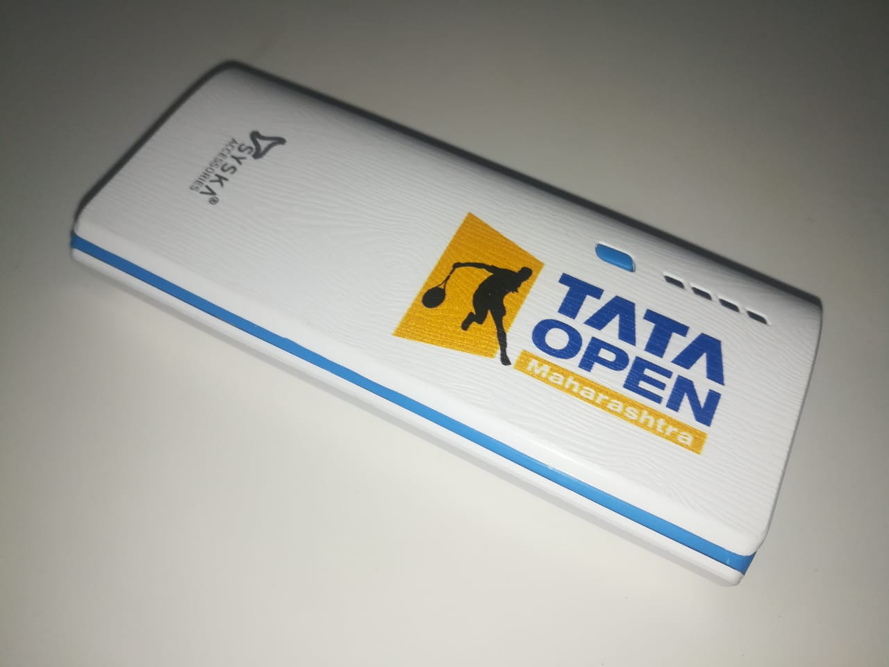 Logo printing on power bank