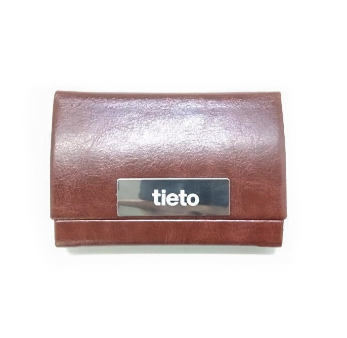 Card holder engraving branding