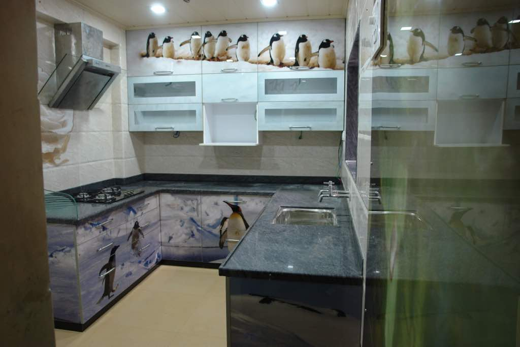 Customised kitchen interiors