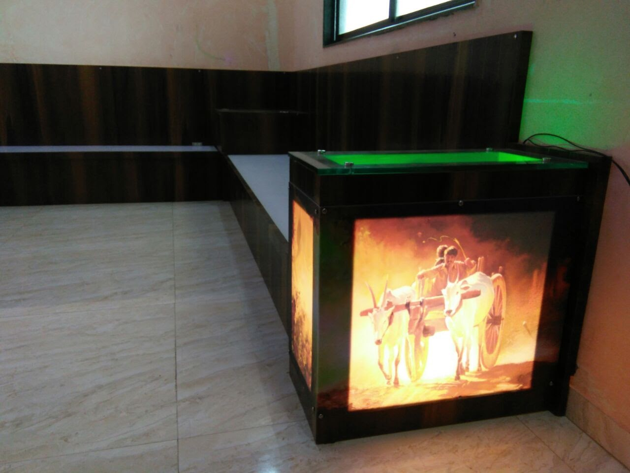 Acrylic Printing LED Backlit