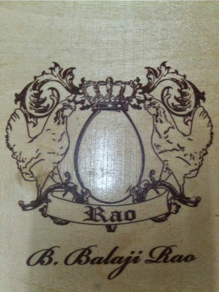 Wooden engraving logo