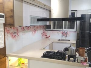 Panse Lasers - Glassnovas - kitchen Splashback